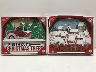 HOlIDAY TIME ASSORTED lIGHTED DECOR