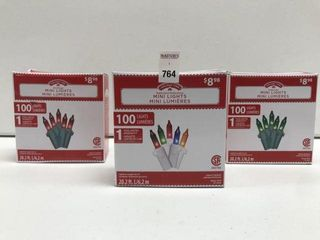 HOlIDAY TIME ASSORTED MINI lIGHTS lENGTH 20 2 FT