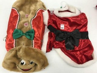ASSORTED PMP PET CHRISTMAS COSTUME SIZE Xl