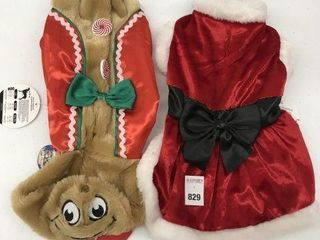 ASSORTED PMP PET CHRISTMAS COSTUME SIZE MED