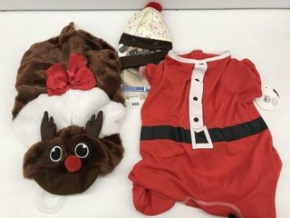 ASSORTED PMP PET CHRISTMAS COSTUME SIZE MED AND Xl