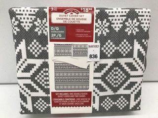 HOlIDAY TIME DUVET COVER SET SIZE QUEEN DOUBlE