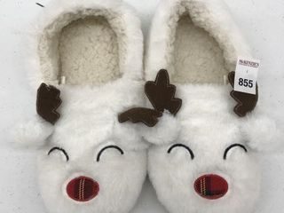 GEORGE WOMEN S CHRISTMAS SlIPPERS SIZE 9 11