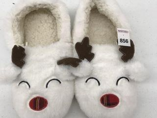 GEORGE WOMEN S CHRISTMAS SlIPPERS SIZE 9 12