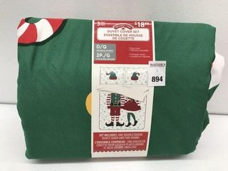 HOlIDAY TIME 3 PIECE DUVET COVER SET