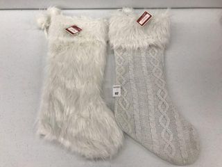 2PCS HOlIDAY TIME STOCKINGS