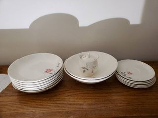 Ballerina Universal Dinner Plates and Salad Bowls
