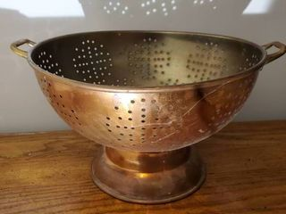 Vintage Copper Strainer