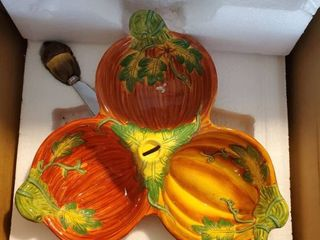 3 Pumpkin Dipping Set