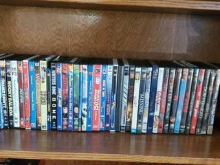lot of DVDs   Kids   Adult Genres
