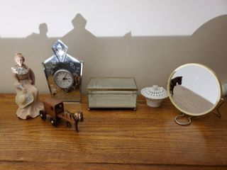 lot of 6  Mirror Decor and More