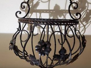 Wrought Iron Wall Hanging Decor