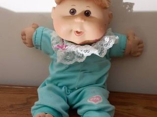 Vintage Blue Cabbage Patch Kid