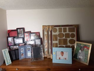 lot of 10 Photo Frames  All Sizes