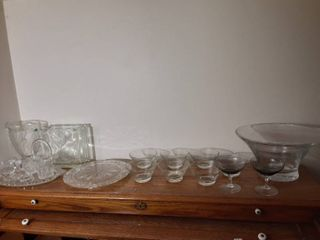 Mega lot of Miscellaneous Glassware