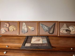 lot of Hanging Walling decor with Shell Design