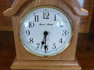 Daniel Dakota Quartz Mantle Clock