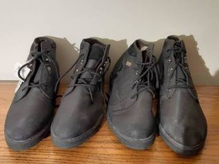 lot of 2 Rugged Outback Ankle Boots   Size 12 and Size 9