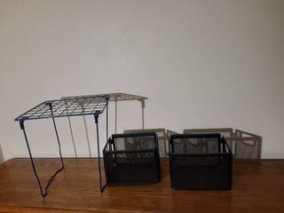 lot of Metal Office Organizers