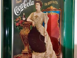 Preserved Coca Cola Tin Tray
