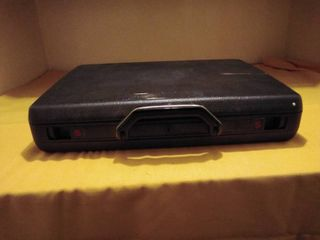 Black Briefcase with inside Dividers