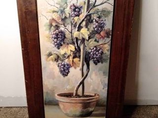 lavender Tree Wall Decor
