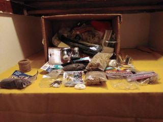 large lot of Crafts and Miniature Doll Accessories