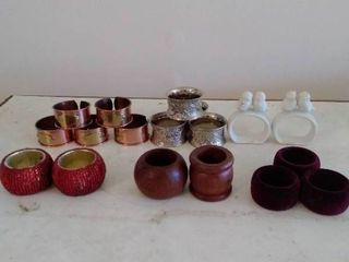 lot of Different Sets Napkin Holders