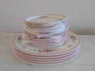 Pink Floral MIKASA Bone Chinaware