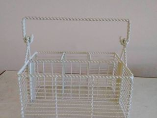Metal Wire Basket Organizer