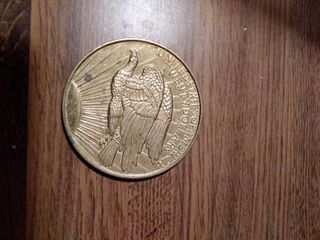 United States 20 Dollar Gold Coin