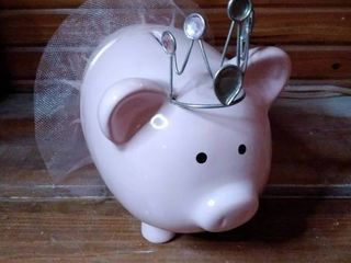 Ballerina Princess Piggy   Piggy Bank