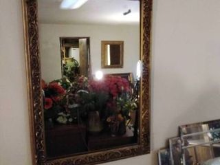 Rectangle Victorian Style Framed Mirror