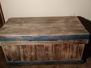 Rustic Wooden Chest