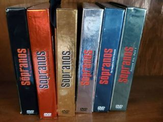 6 Seasons of Sopranos DVD Version