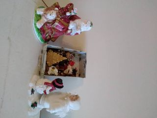 lot of Ornaments and Christmas Decor