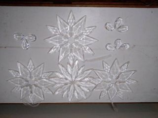 lot of Glass Christmas Decor