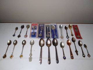 Mega lot of Collectable Spoons