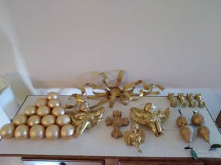 Shiny Painted Religious Christmas Decor