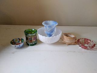 Collectable Small Bowls and Vases