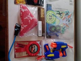 lot of Nerf Pistols and Collectable Toys