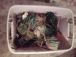 lot of Wreath Pieces