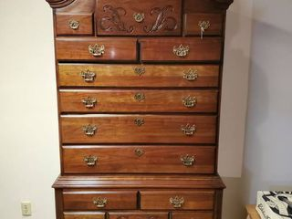 Tallboy Dresser   Feet Need Restored   Other then Feet in Great Condition