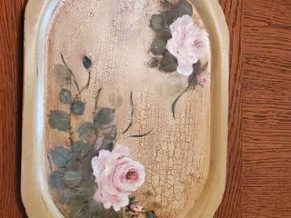 Genuine Plywood Hand Painted Breakfast Tray