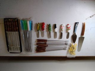 lot of Fondue Stick and Small Kitchenware