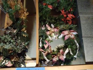 lot of Wreaths and Pieces