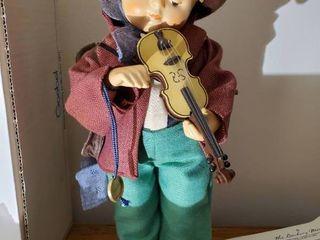 Goebal Collectible Doll  Knotroll NR 21 1  little Fiddler