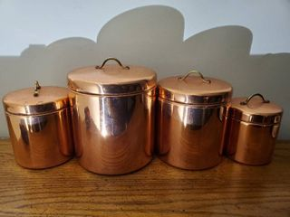 De le Cuisine Cannister Set   4 Pieces