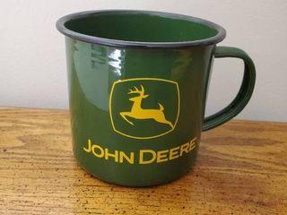 Enamel John Deere Mug