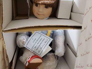Jeffery From Danbury Mint By Elke Hutchens Porcelain Doll